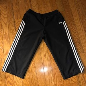 Men's Adidas Cropped Track Pants L